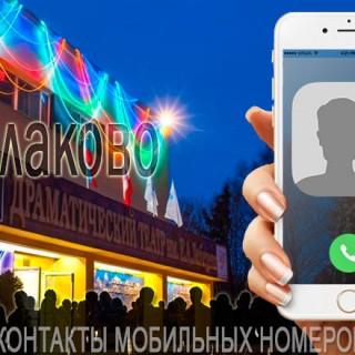 База мобильных телефонов города Балаково