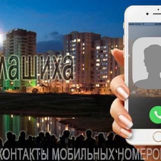 База мобильных телефонов города Балашиха