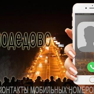 База мобильных телефонов города Домодедово