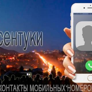 База мобильных телефонов города Ессентуки