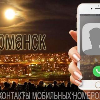 База мобильных телефонов города Мурманска