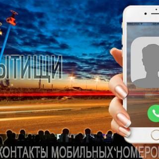 База мобильных телефонов города Мытищи