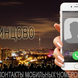 База мобильных телефонов города Одинцово