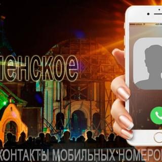 База мобильных телефонов города Раменское