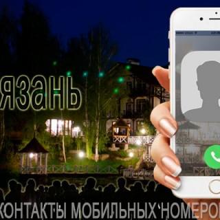База мобильных телефонов города Рязани