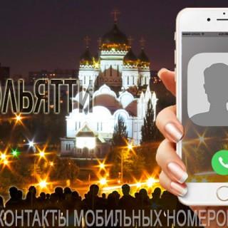 База мобильных телефонов города Тольятти