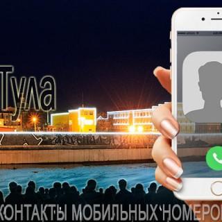 База мобильных телефонов города Тулы
